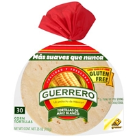 Guerrero Corn Tortillas - 30 CT Food Product Image