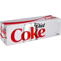 Diet Coke - 12 PK Food Product Image