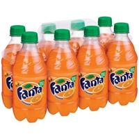 Fanta Orange Soda - 8 PK Food Product Image
