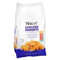 Nice! Frozen Chicken Nuggets Food Product Image