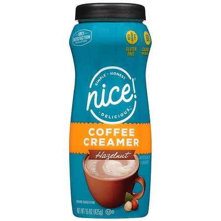 Nice! Coffee Creamer Hazelnut Food Product Image
