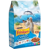 Purina Friskies Seafood Sensations Cat Food Food Product Image