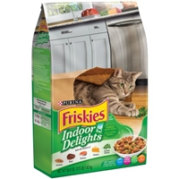 Purina Friskies Cat Food Indoor Delights Food Product Image