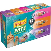 Friskies Classic Pate Variety Pack Food Product Image