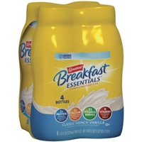 Nestle Carnation Breakfast Essentials Classic French Vanilla - 4 PK Food Product Image