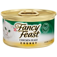 Purina Fancy Feast Chicken Feast Chunky Gourmet Cat Food Food Product Image