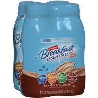Nestle Carnation Breakfast Essentials No Sugar Added Rich Milk Chocolate - 4 PK Food Product Image