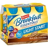 Carnation Breakfast Essentials Light Start Milk Chocolate Food Product Image