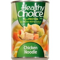 Healthy Choice Chicken Noodle Soup Food Product Image