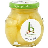 Just The Basics Apple Slices Fuji, In Light Syrup Food Product Image