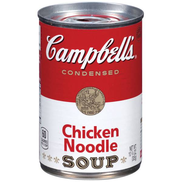 Campbell's Chicken Noodle Soup Food Product Image