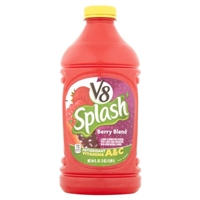 V8 Splash Juice Beverage Berry Blend Food Product Image