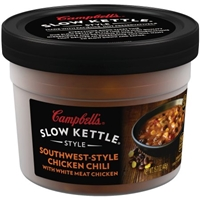 Campbell's Slow Kettle Style Southwest-Style Chicken Chili with Beans Food Product Image