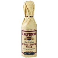 Lea & Perrins All Natural Original Worcestershire Sauce Food Product Image