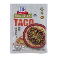 McCormick Organics Taco Seasoning Mix Food Product Image