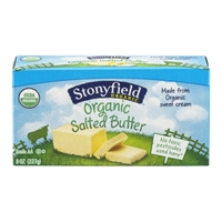 Stonyfield Organic Butter Salted Food Product Image