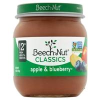 Beech-Nut Classics Stage 2 Apple & Banana Food Product Image