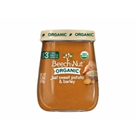 Beech-Nut Organic Stage 3 Just Sweet Potato & Barley Food Product Image