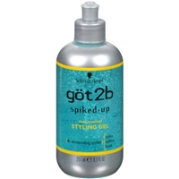 Schwarzkopf Got2b Spiked-Up 4 Demanding Styles Max-Control Styling Gel Product Image