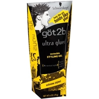 Schwarzkopf Got2b Ultra Glued 4 Vertical Styles Invincible Styling Gel Product Image
