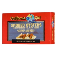 California Girl Cal Girl Smoked Oysters Food Product Image