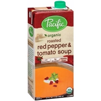 Pacific Organic Soup Roasted Red Pepper & Tomato Food Product Image