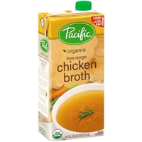 Pacific Organic Free Range Chicken Broth Food Product Image