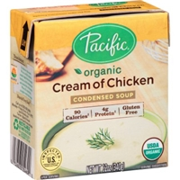 Pacific Natural Foods Soup Cream Of Chicken Organic Food Product Image