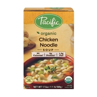 Pacific Organic Soup Chicken Noodle Food Product Image