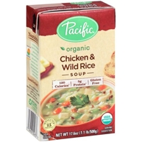 Pacific Organic Soup Chicken & Wild Rice Food Product Image