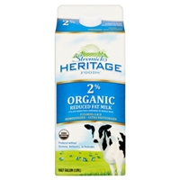 Stremicks Heritage Foods Organic 2% Milk Food Product Image