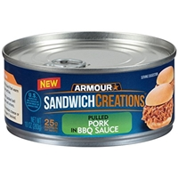Armour Armour, Sandwich Creations, Pulled Pork In Bbq Sauce Food Product Image