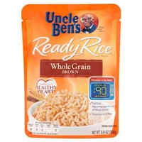 Uncle Ben's Ready Rice Whole Grain Brown Food Product Image
