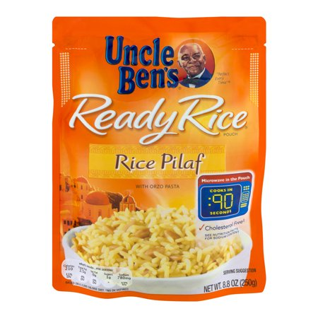 Uncle Ben's Rice Pilaf Ready Rice Food Product Image