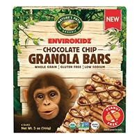 Nature's Path Organic EnviroKidz Chocolate Chip Granola Bars - 6 CT Food Product Image