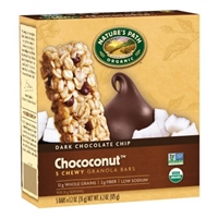 Nature's Path Organic Chococonut Chewy Granola Bars - 5 CT Food Product Image