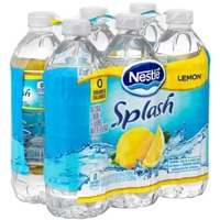 Nestle Pure Life Flavored Water Splash Lemon - 6 CT Food Product Image
