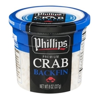 Phillips Premium Crab Backfin Food Product Image