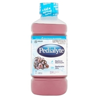 Pedialyte Oral Electrolyte Solution Grape Food Product Image