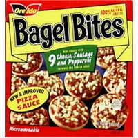 Ore-Ida Bagel Bites Cheese, Sausage & Pepperoni - 9 CT Food Product Image