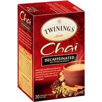 Twinings Of London Chai Decaffeinated Tea - 20 Ct Food Product Image