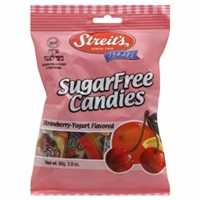 Streit's Strawberry-Yogurt Sugar Free Candies Food Product Image