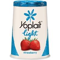 Yoplait Light Fat Free Yogurt Strawberry Food Product Image