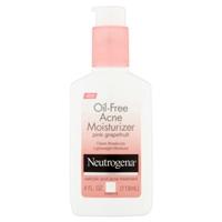 Neutrogena Oil-Free Acne Moisturizer Pink Grapefruit Food Product Image