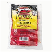Zweigle's Hot Dogs & Sausages Natural Casing Hot Dogs Food Product Image
