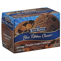 Blue Bunny Ice Cream Light, Chocolate Caramel Commotion Product Image
