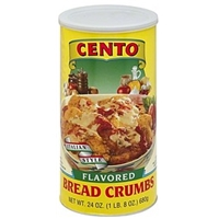 Cento Bread Crumbs Italian Style Food Product Image