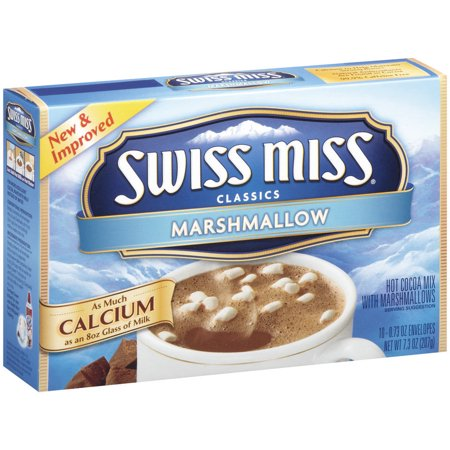 Swiss Miss Classics Hot Cocoa Mix with Marshmallows - 10 CT Food Product Image