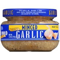Minced Garlic Food Product Image