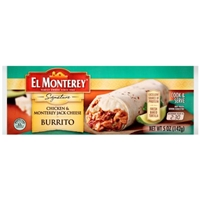 El Monterey Burrito Chicken & Monterey Jack Cheese Food Product Image
